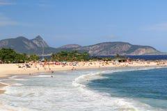 Beach Piratininga Niteroi Rio de Janeiro Royalty Free Stock Photo