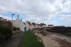 Beach at Pittenweem Royalty Free Stock Images