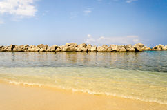 Beach of Pizzo, Calabria, Italy Stock Images