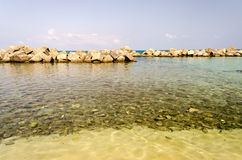 Beach of Pizzo, Calabria, Italy Royalty Free Stock Photo
