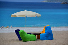 Beach - place for relax Royalty Free Stock Photography