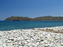 Beach at Plaka Royalty Free Stock Photography