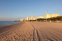 Beach in Platja d'Aro, Spain Stock Images