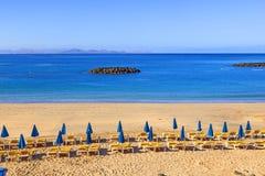 Beach of Playa Blanca Royalty Free Stock Photo