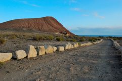 Beach Playa de Λα Tejita Tenerife Στοκ Φωτογραφίες