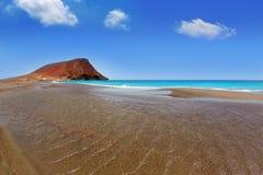 Beach Playa de la Tejita in Tenerife Royalty Free Stock Photography