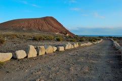 Beach Playa de la Tejita in Tenerife Stock Photos