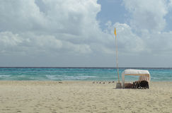 Beach of Playa del Carmen Royalty Free Stock Photos