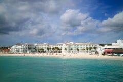 Beach at Playa del Carmen. Mexico, Mayan Riviera Royalty Free Stock Photo