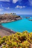Beach Playa Paraiso costa Adeje in Tenerife Stock Photos
