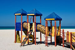 Beach Playground Equipment Royalty Free Stock Photography