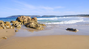 Beach in Plettenberg Bay, Garden Route, South Africa Stock Photography