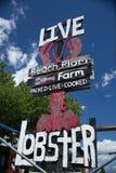 Beach Plum Lobster Farm Stock Image