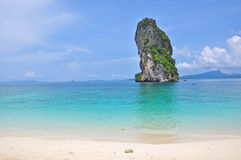 Beach of Poda island, Andaman sea, Krabi Thailand Stock Photos
