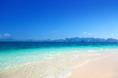 Beach on the Poda island Royalty Free Stock Photos