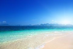 Beach on the Poda island Stock Photography