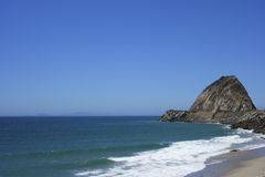 Beach at Point Mugu, SoCal Royalty Free Stock Photos