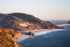 Beach at Point Sur, CA Royalty Free Stock Image