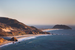 Beach at Point Sur, CA Stock Image