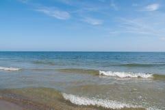 Beach in Poland Royalty Free Stock Photos