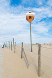 Beach pole Royalty Free Stock Photos