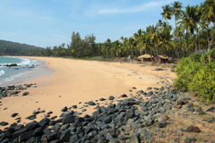 Beach of Polem Stock Images