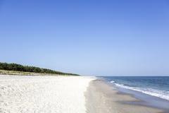 Beach at the Polish Baltic coast Stock Images