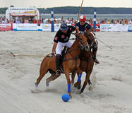 Beach Polo 02 Royalty Free Stock Photos