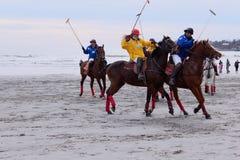 Beach polo  Royalty Free Stock Photography