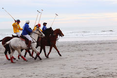 Beach polo  Royalty Free Stock Images