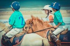 Beach polo Royalty Free Stock Photos