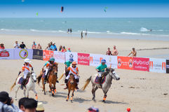Beach polo Royalty Free Stock Photo