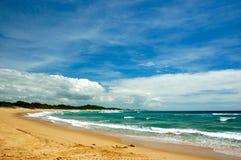 Beach at Ponta Mamoli Royalty Free Stock Image