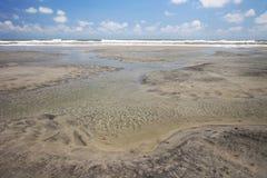 Beach Pools stock image