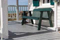 Beach porch in florida Stock Photography