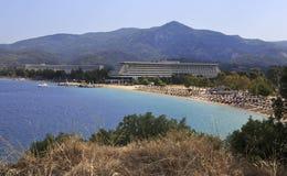 Beach of Porto Carras Grand Resort. Stock Images