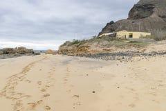 Beach on Porto Santo Royalty Free Stock Photography