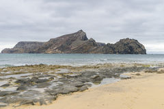Beach on Porto Santo Stock Photos