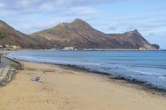 Beach on Porto Santo Royalty Free Stock Photo