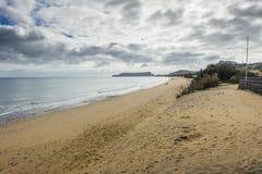Beach on Porto Santo Stock Photos