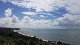 Sea Porto Seguro Bahia stock images