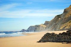 Beach in Portugal Stock Photo