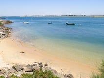 Beach, Portugal, Algarve, Vila Real de Santo Antonio Royalty Free Stock Images