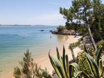 Beach, Portugal, Algarve, Vila Real de Santo Antonio Royalty Free Stock Photo
