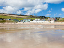 Praa Sands Cornwall England Stock Photo