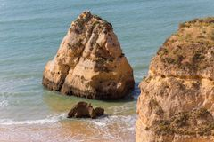 Praia da Rocha Stock Photography