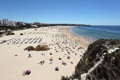 Beach Praia da Rocha in Portimao Stock Photography