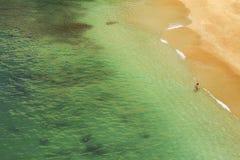 Beach Praia da Rocha in Portimao. Algarve royalty free stock photos