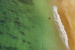 Beach Praia da Rocha in Portimao. Algarve stock photography