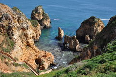 Praia da Piedade, Algarve, Portugal, Europe Royalty Free Stock Photos